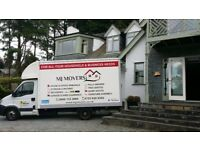 Professional house removals / man and van / single item delivery / Light Houlage MJ MOVERS Ltd