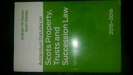 Trusts and Succession Avizandum