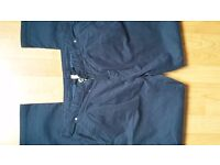 NEW Ladies Womens Dark Blue Lightweight Skinny Jeans Trousers size 12