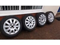 """18""""Alloy wheels and tyres"""