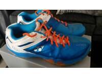 Yonex badminton shoes . Size 9