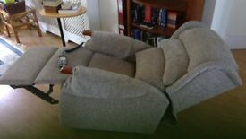 Dual motor electric riser recliner: Celebrity Westbury 'Petite' - less than a year old.