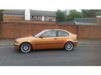 BMW 3 SERIES COMPACT 316 TI 12 MONTHS MOT AND SERVICE