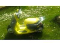 ▶ REDUCED volt battery/electric mini Cooper scooter concept. Good condition.