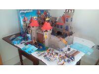 3 Playmobil Knight Sets