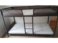 IKEA Bunk Beds (TUFFING) & mattresses (MALFORS)