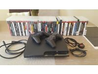 PS3 PLUS 54 GAMES 2 X CONTROLERS