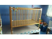 Cot for sale £50, can deliver