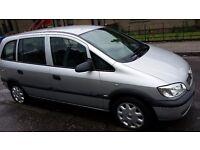 Vauxhall zafira life 7 seater life