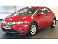 2008 08 HONDA CIVIC 1.3 SE I-DSI 5d 82 BHP, EXCELLENT CONDITION