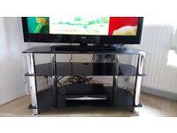 Black glass furniture £10 each