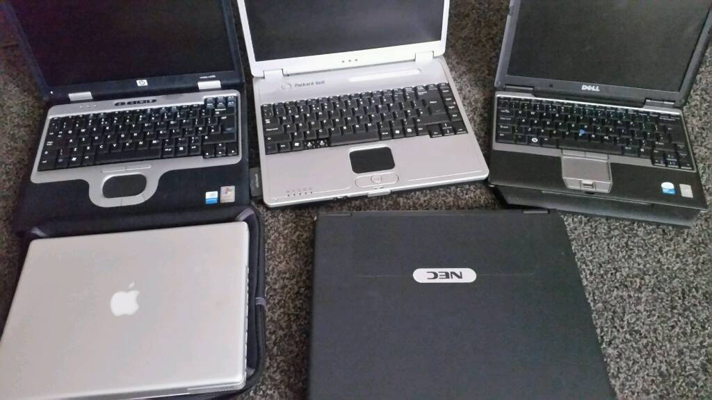 Laptops sold as seen