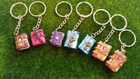 Handmade keyrings and pendants