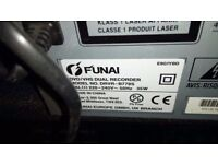 Funai DRVR-B778S DVD recorder video transfer combo