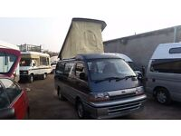 Toyota Hiace 4 Berth Camper POP TOP CRUISING CABIN CONVERTED BY TOYOTA FROM NEW DIESEL AUTO 4WD