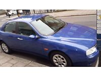 URGENT SALE BLUE ALFA ROMEO £550 OR BEST OFFER MUST GO TODAY