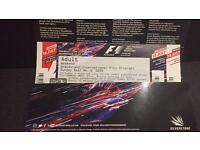 F1 Silverstone Grand Prix, IPS weekend ticket