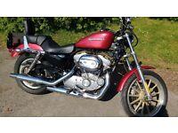 Harley Davidson XLH 883. 3950 miles