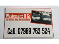 Wastemanz Free scrap metal collection!! Call wastemanz!!! Also we buy scrap cars and vans!!!