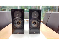 Monitor Audio 7 loudspeakers with Soundstyle stands