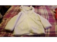 Girls coats size 9-12 months
