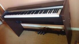 CASIO PX-700 PIANO KEYBOARD VERY LESS USED BOUGHT BRAND NEW LIKE NEW IN FULLY WORKING CONDITION