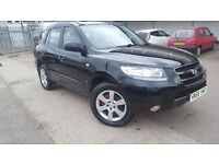 HYUNDAI SANTA-FE 7 SEATERS, LONG MOT , DIESEL,EAST LONDON, 07581796008