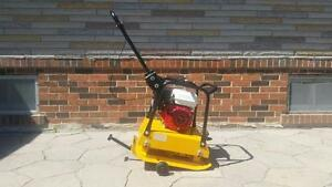 PLATE COMPACTOR TAMPER HONDA 18'' + WHEEL KIT + ALL INCLUSIVE WARRANTY + 40 CM COMPACTION DEPTH + FREE SHIPPING !!