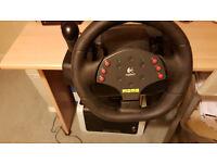 Logitech® MOMO® Racing Force Feedback Wheel PC controller
