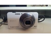 Sony DCS-WX7 16.2mp Digital Camera, 1080i HD video recording. Really good condition, not used much.