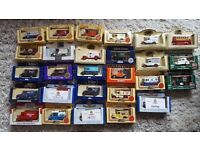 A COLLECTION OF 27 DIECAST MODEL CARS