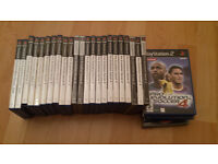Job Lot 30 PS2 Games Pro Evolution Soccer 08 ,04 and 06
