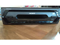 SONY xplod CDX-S11 CAR stereo RADIO AND CD PLAYER Good working order