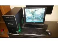Desktop computer dual core full setup