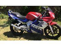 Honda nsr cbr 125 2001 two stroke aprilia rs new topend new mot