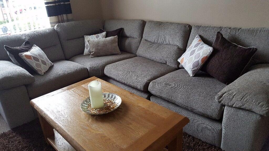 Morgan Modular Design Corner Sofa In Uddingston Glasgow
