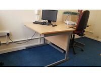 Home or Office desk 100 x 80