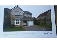 Lovely family home for sale in Inverurie. Good commuter base. Excellent schools nearby.