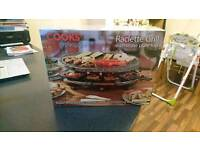 Cooks Raclette Grill