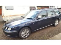 2002 ROVER 75 DIESEL ESTATE - AUTOMATIC - LONG MOT