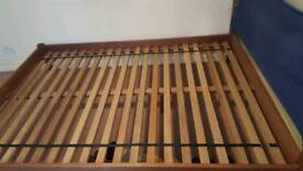 quality wood bed frame