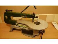 "Record Power 16"" variable speed scroll saw"