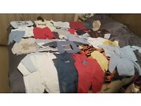 Massive Bundle of Baby Boy Clothes 6 - 18 months - 82 items - £20