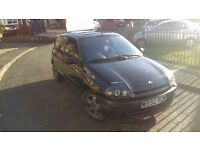 Renault Clio 71k tax and mot cash or swap