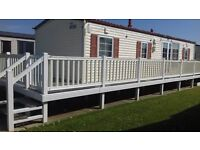 Beautiful 8 berth Willerby 'Villa' Holiday Mobile Home complete with Decking, Shed etc.