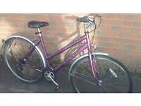 Raleigh Pioneer Ladies Hybrid Bike