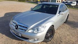 MERCEDES S CLASS 3.0 DIESEL 2008 ONE OWNER 91K