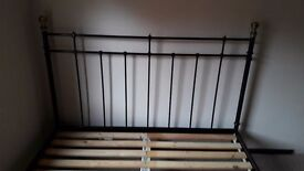 King size ikea bed frame. (Frame only-no mattress).