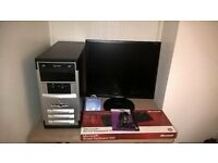 Athlon II x3 Triple core PC, 4GB ram, 500GB hdd, Windows 7. (NORTH DORSET)