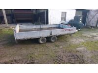 Brian James 3500kg 12x6 tipping trailer with ramps